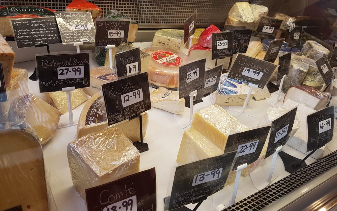 Carpenters Farm Shop Banbury - more cheese including cambozola, raclette, gruyere and jarlsberg